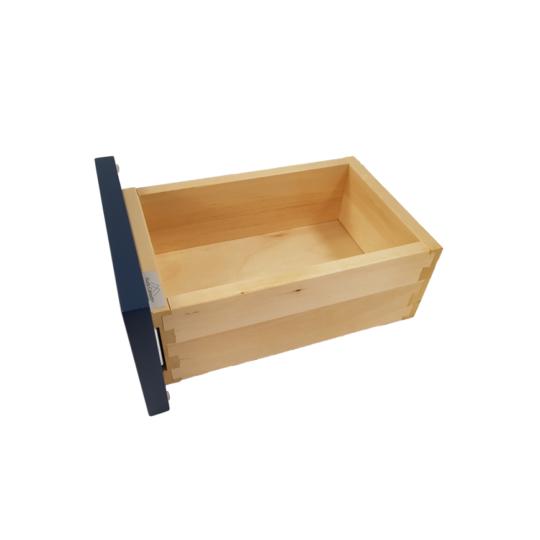 Birch wood drawer